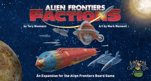 Alien Frontiers:Factions expansion - for rent