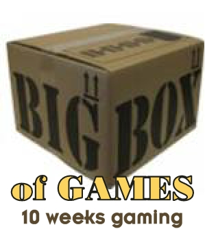 Big box of games - 10-12 games for 10 weeks - Click Image to Close