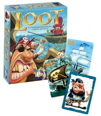 Loot (Pirate card game) - for rent