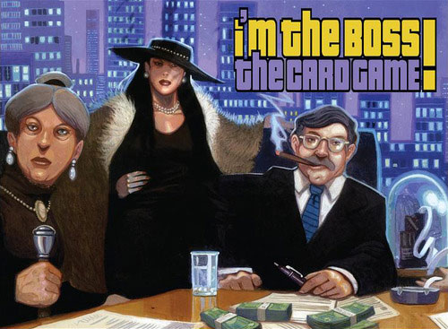 I'm the Boss - Card game - for rent