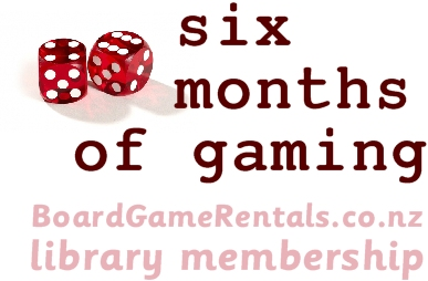 6 months library memberships for 1, 2 or 3 games