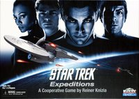 Star Trek Expeditions + expansion - for rent