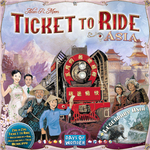 Ticket to Ride - Team Asia & Legendary Asia - for rent