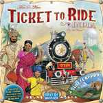 Ticket to Ride India/Switerland map expansion - for rent