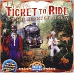 Ticket to Ride:Heart of Africa Map expansion - for rent