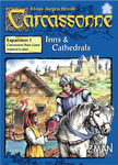 Carcassonne: Inns and Cathedrals expansion - new (dented box)