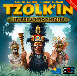 Tzolkin: Tribes & Prophecies - expansion - for rent