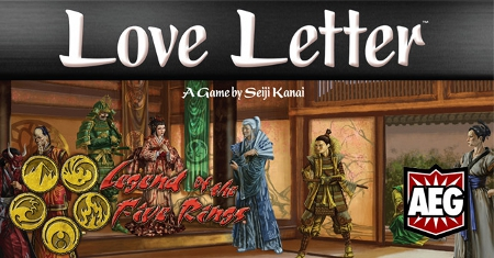 Love Letter : Legend of the Five Rings edition - new