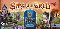 Small World: 6 Player Board, (expansion) - for rent