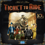 Ticket to Ride 10th Anniversary edition - for rent