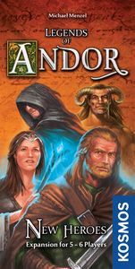 Legends of Andor: New Heroes expansion - for rent
