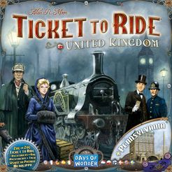 Ticket to Ride United Kingdom expansion - for rent