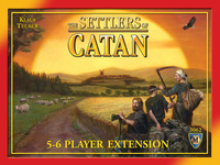 The Settlers of Catan 5-6 player expansion - for rent