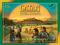 Catan: Cities and Knights 5-6 player expansion - for rent