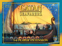 Catan: Seafarers 5-6 player expansion - for rent