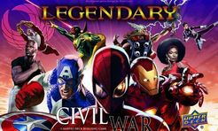 Legendary: Civil war expansion - for rent