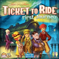 Ticket to Ride: First Journey - for rent