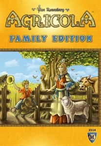 Agricola Family Edition - for rent