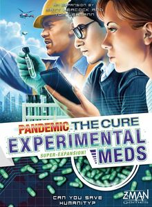 Pandemic: The Cure - Experimental Meds expansion - for rent