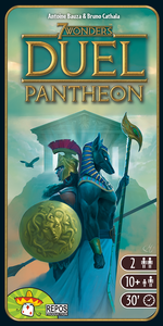 7 Wonders Duel: Pantheon expansion - for rent