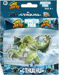 King of Tokyo/New York: Cthulhu expansion - for rent