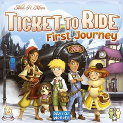 Ticket to ride Europe : First Journeys - for rent