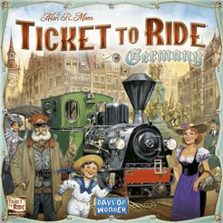 Ticket to Ride Germany - for rent
