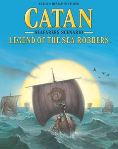 Catan: Legend of the Sea Robbers expansion - for rent