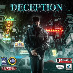 Deception Murder in HK - Undercover Allies expansion - for rent