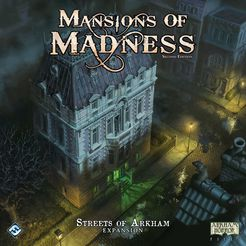 Mansion of Madness: Streets of Arkham Expansion - for rent