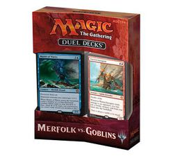 Magic the Gathering: Duel Deck Merfolk vs Goblins - for rent