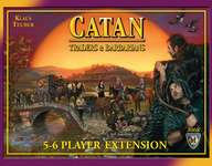 Catan:Traders and Barbarians 5-6 player expansion - for rent