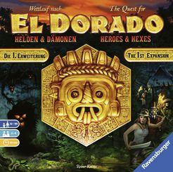 The Quest for El Dorado: Heroes & Hexes expansion - for rent