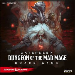 D&D: Waterdeep Dungeon of the Mad Mage Board Game - for rent