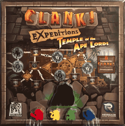Clank! Expeditions: Temple of the Ape Lords expansion - for rent