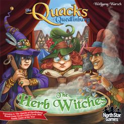 The Quacks of Quedlinburg: The Herb Witches Expansion - for rent