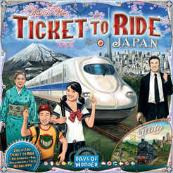 Ticket to Ride Japan and Italy Expansion - for rent