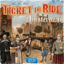Ticket to Ride Amsterdam - for rent