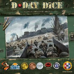 D-Day Dice 2nd Edition - for rent